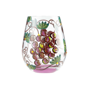 It's Wine O'clock Stemless Wine Glass
