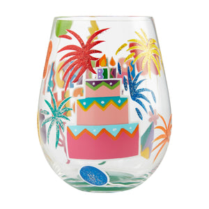 Birthday Bash Stemless Wine Glass