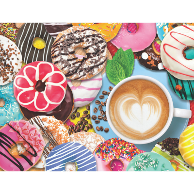 Donuts N' Coffee Puzzle