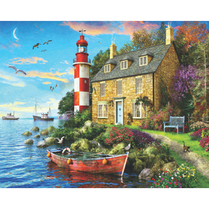 Cottage Lighthouse Puzzle