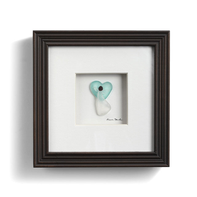 Angel with Heart Wall Art