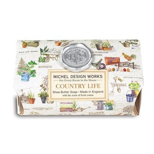 Country Life Large Bath Soap Bar