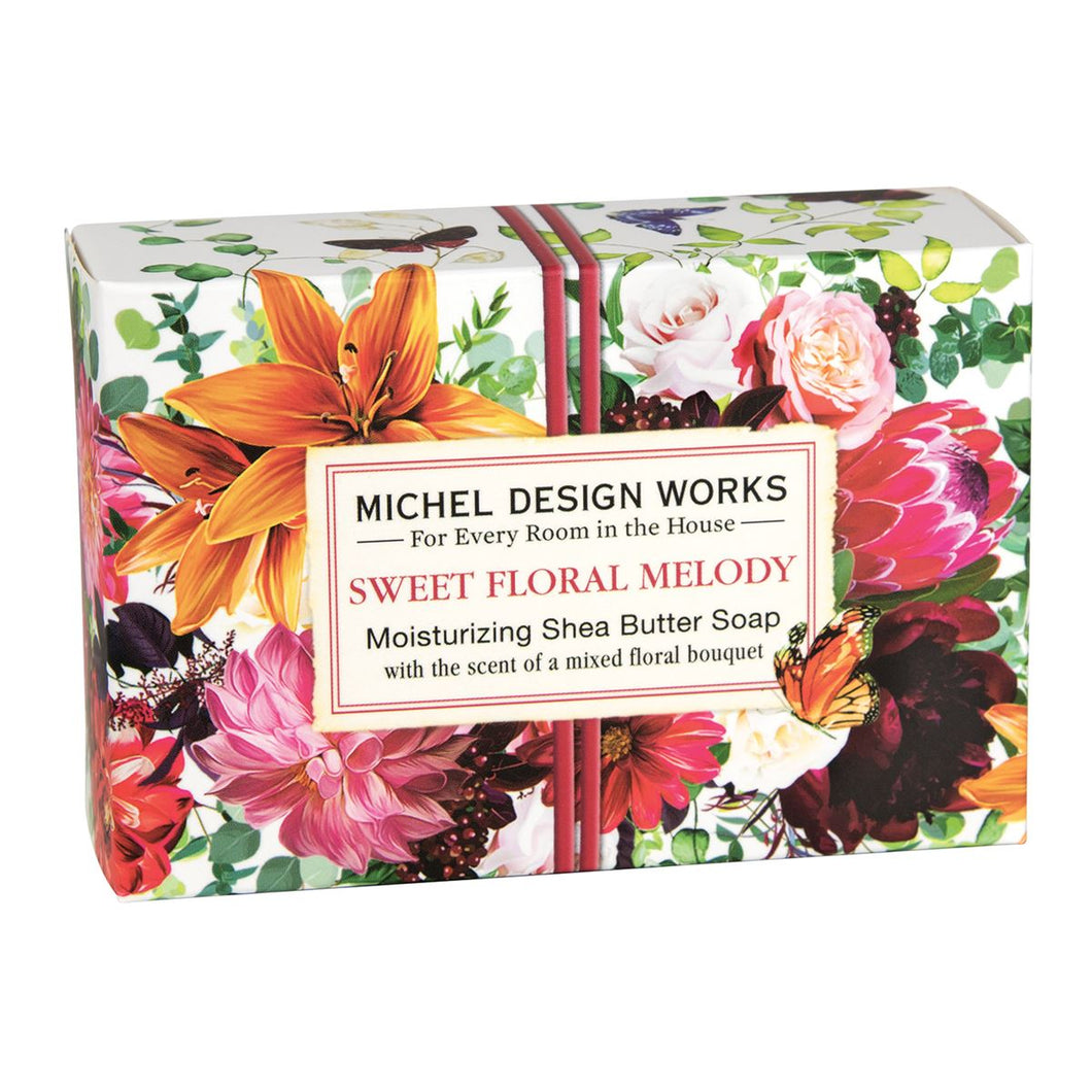 Sweet Floral Melody Boxed Single Soap