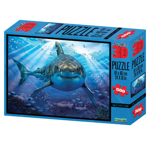 Great White Shark 3D Puzzle