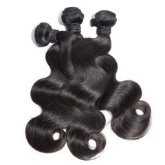 LUXURY BODY WAVE BUNDLE DEALS - NATURAL COLOUR - vickyboateng