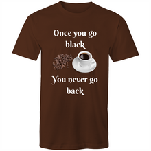 Load image into Gallery viewer, Once You Go Black - Mens Tee