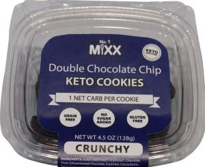 Double Chocolate Chip Keto Cookies