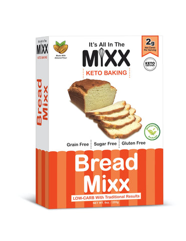 Bread Mixx - Keto Friendly Low Carb Gluten Free