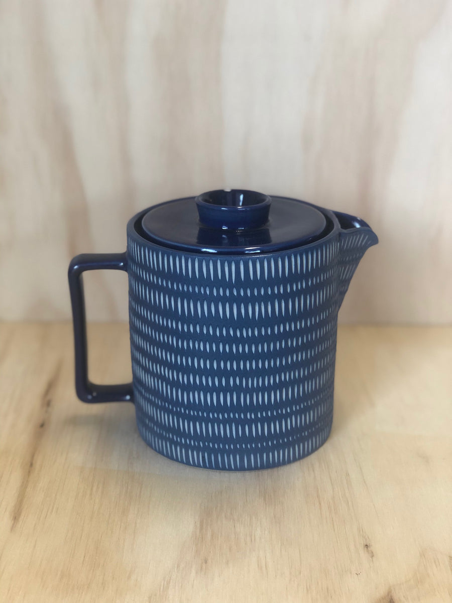 Tea Pot - Navy