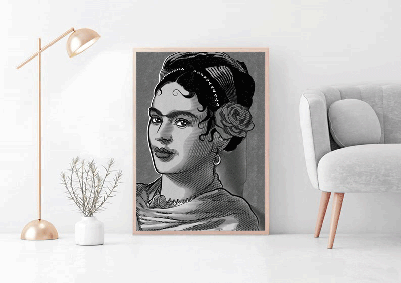 Frida Kahlo Art, Frida Kahlo Posters & Art Prints | The Famous Faces