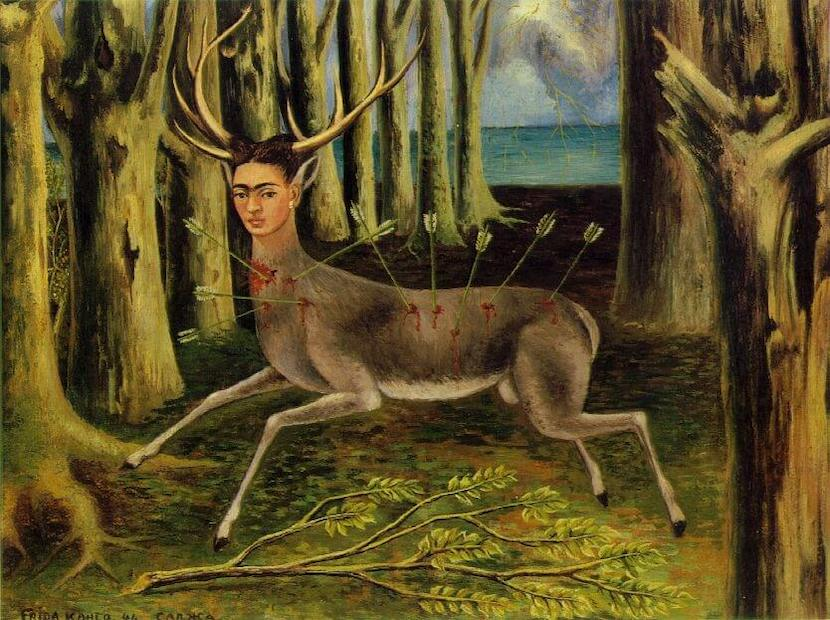 The wounded dear painting by Frida Kahlo 1943
