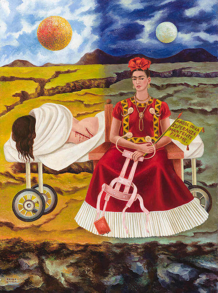 Tree of Hope Painting by Frida Kahlo 1946