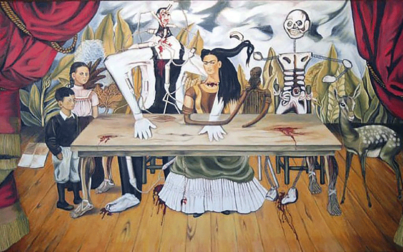 The Wounded Table, Frida Kahlo Painting 1940
