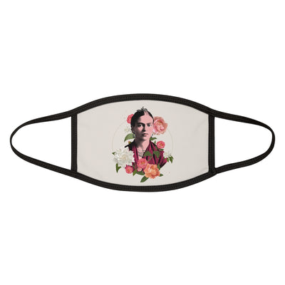 Frida Flowers Face Mask - Cream | Vignettly
