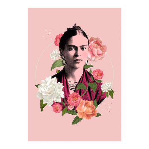 Shop Frida Flowers Art | The Famous Faces