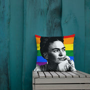 Frida LGBT Pillow Case | Feminist Throw Pillows | Vignettly