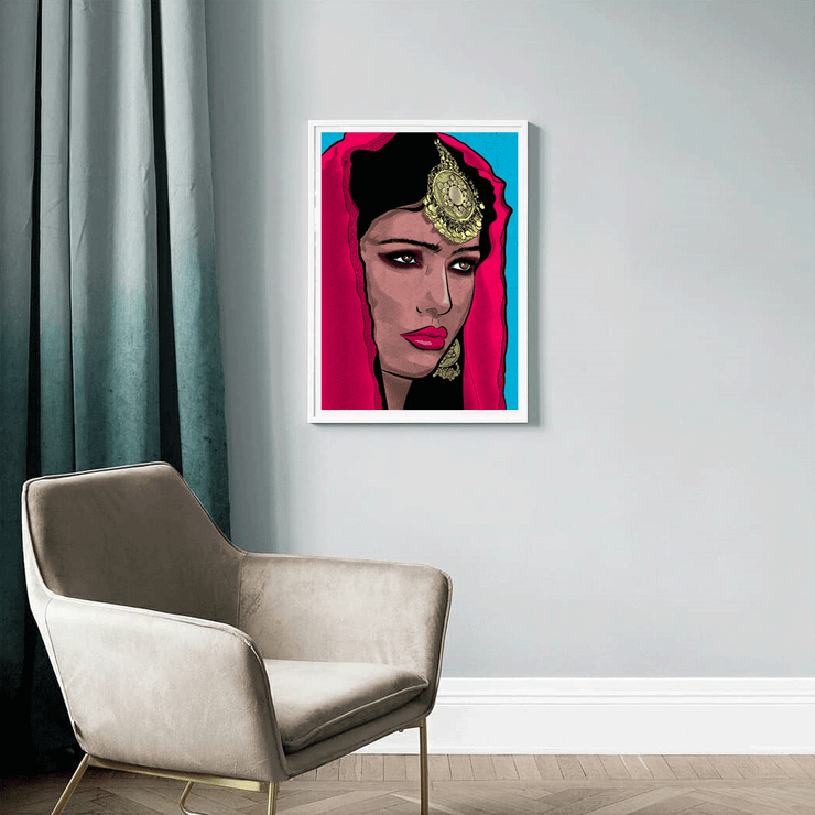 Just a Girl - Framed Women Posters | Vignettly