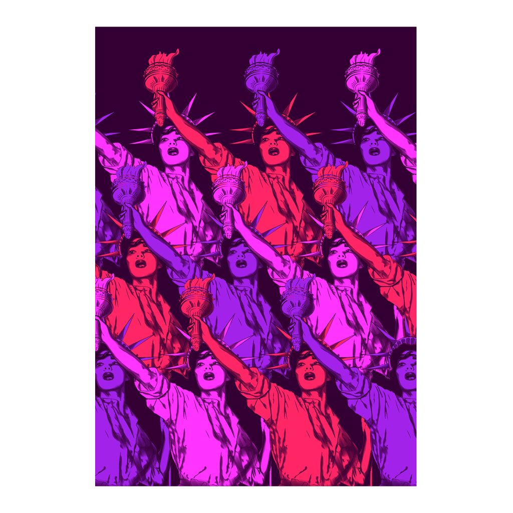 Liberté de la Femme • Liberty Poster | The Famous Faces