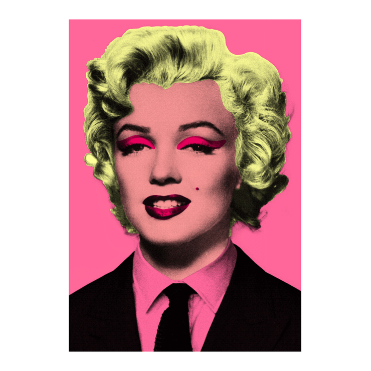 Marilyn Monroe Pop Art Poster | Vignettly