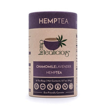 Load image into Gallery viewer, Pure Hemp Tea – Chamomile Lavender Flavor