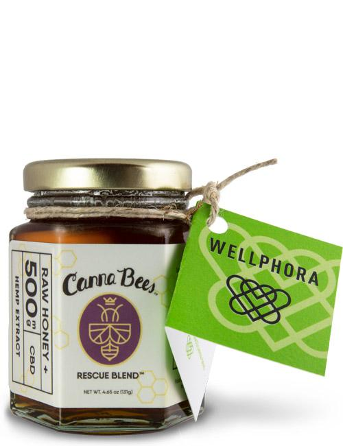 Canna Bees CBD Honey, 500mg