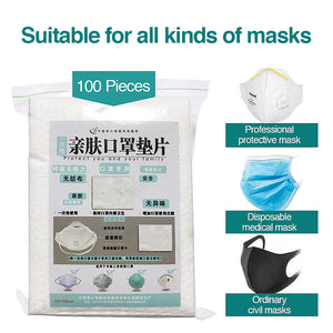 Mask Liners - Extends Mask Life (100 pack)