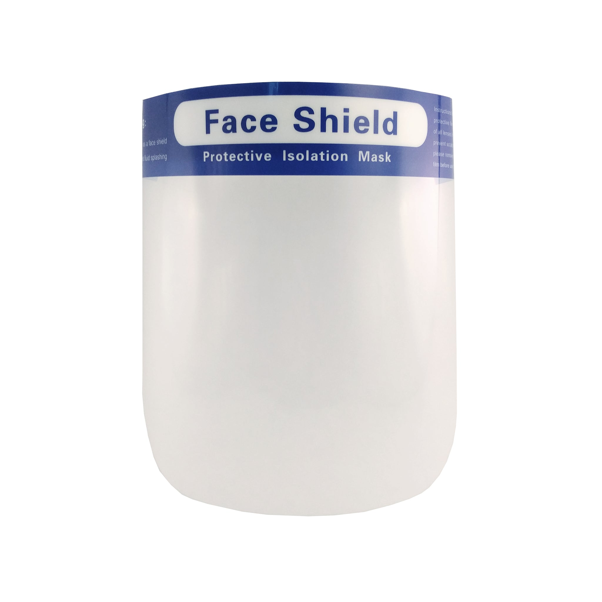 Face Shield Full Length Anti-fog