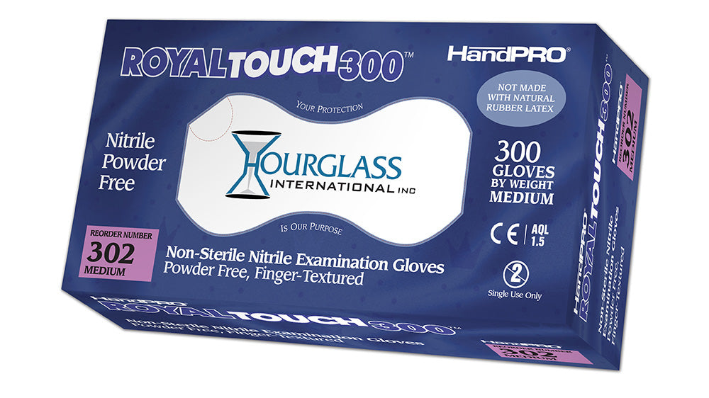 HandPRO RoyalTouch300 Nitrile Exam Gloves