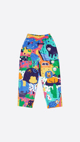 Animal Kids Trousers - Lucky Cla