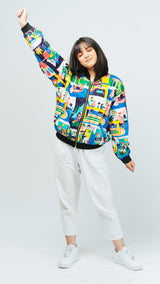 Happy Family Bomber Jacket - Lucky Cla