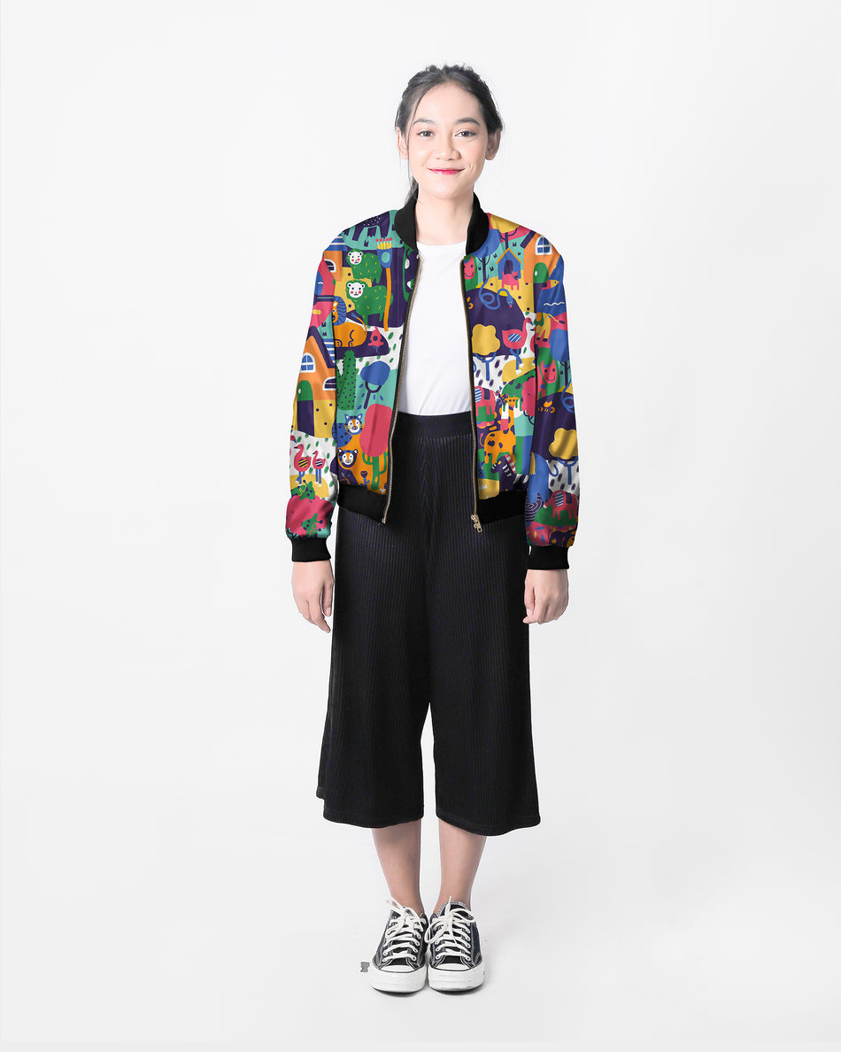 Animal Bomber Jacket [PO] - LuckyCla