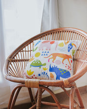 Zoo Cushion Cover - Lucky Cla