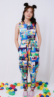 Happy Family Jumpsuit - Lucky Cla