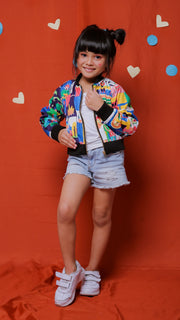 Happy Family Kids Bomber Jacket - LuckyCla