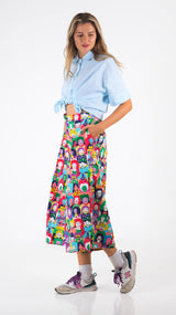 Happy Faces Culottes - Lucky Cla