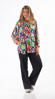 Happy Faces Long Slevee Shirt - Lucky Cla