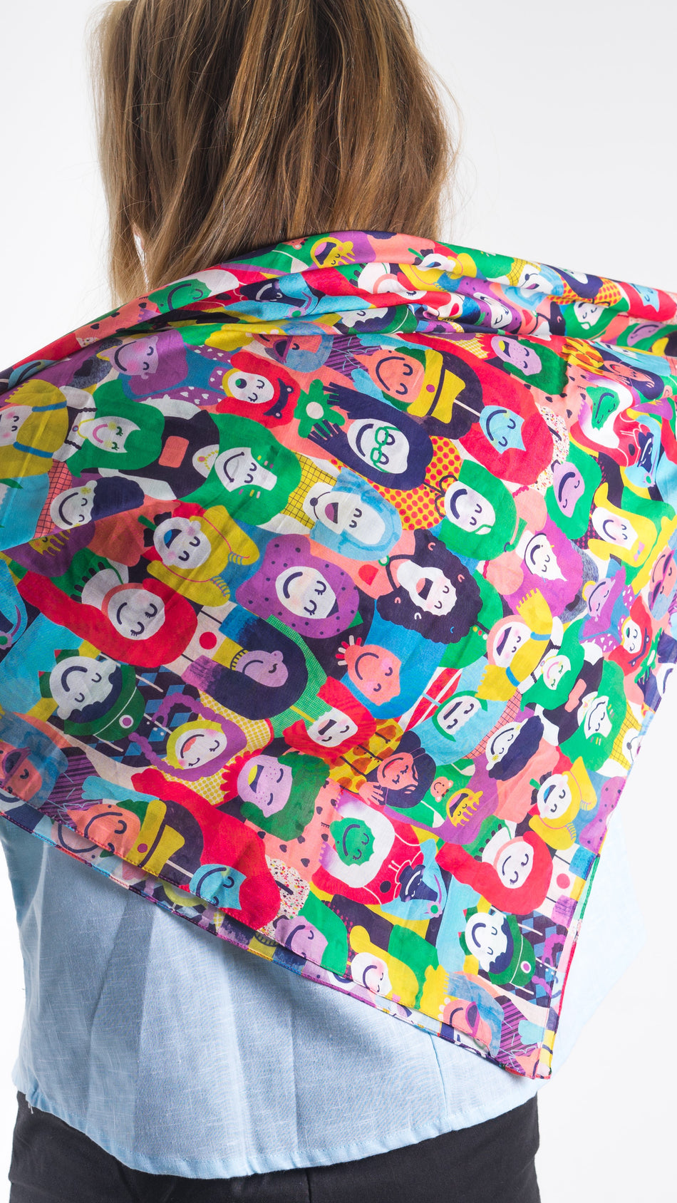 Happy Faces Scarf - LuckyCla