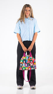 Happy Face Tote Bag - Lucky Cla