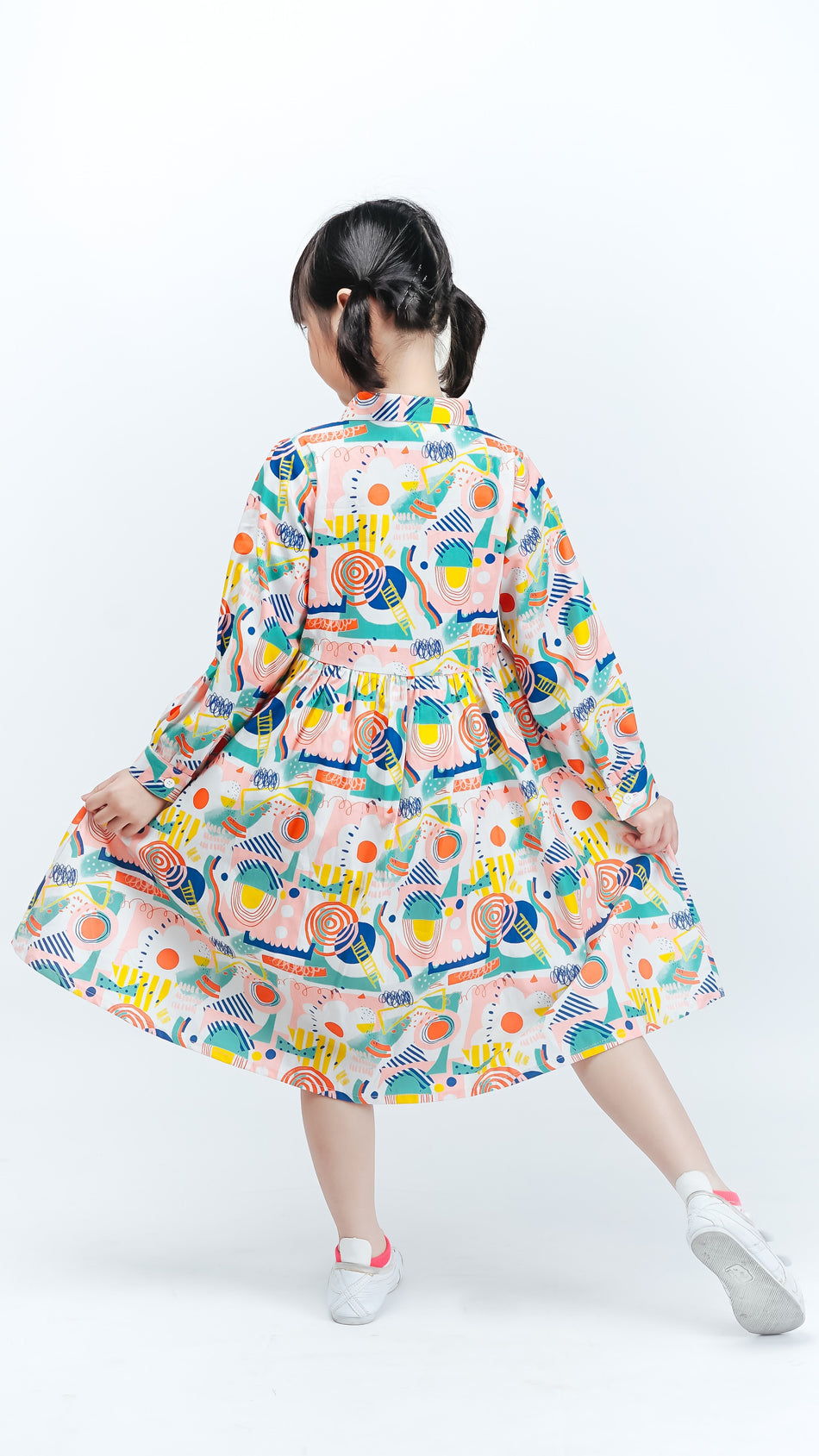 Ular Tangga Kids Dress - LuckyCla