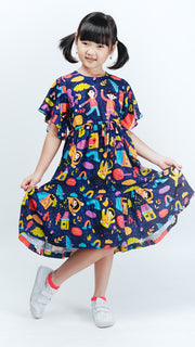 Rain Kids Dress - LuckyCla