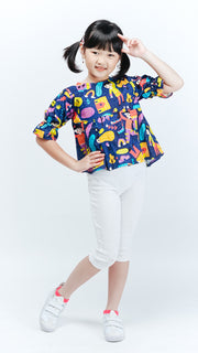 Rain Kids Short Slevee Top - LuckyCla