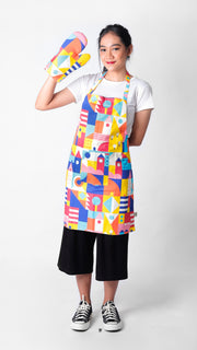 Hometown Set Apron - LuckyCla