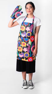 Neon Flow Set Apron - LuckyCla
