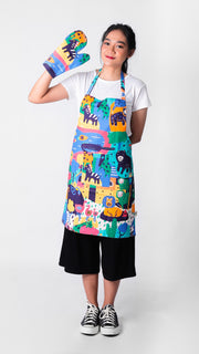 Animal Set Apron - Lucky Cla