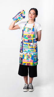 Happy Family Set Apron - LuckyCla