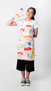 Zoo Set Apron - LuckyCla