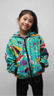 Pasar Malam Kids Jacket Water Repellent - Lucky Cla