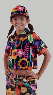 Flow Kids Crop Top - Lucky Cla