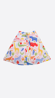 When in The Zoo Front Strap Skirt - Lucky Cla