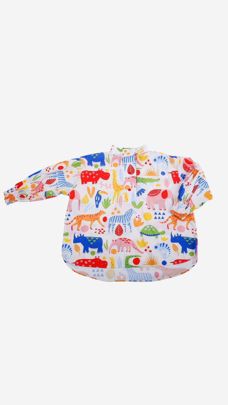 When in The Zoo High Collar Shirt